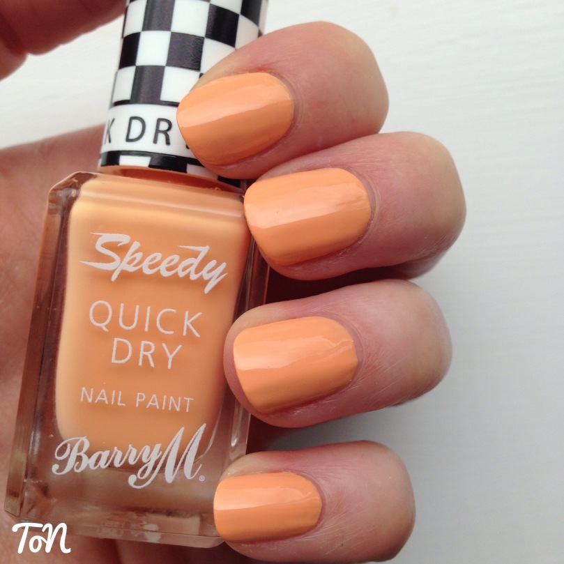 Barry M Speedy Quick Dry Full Throttle