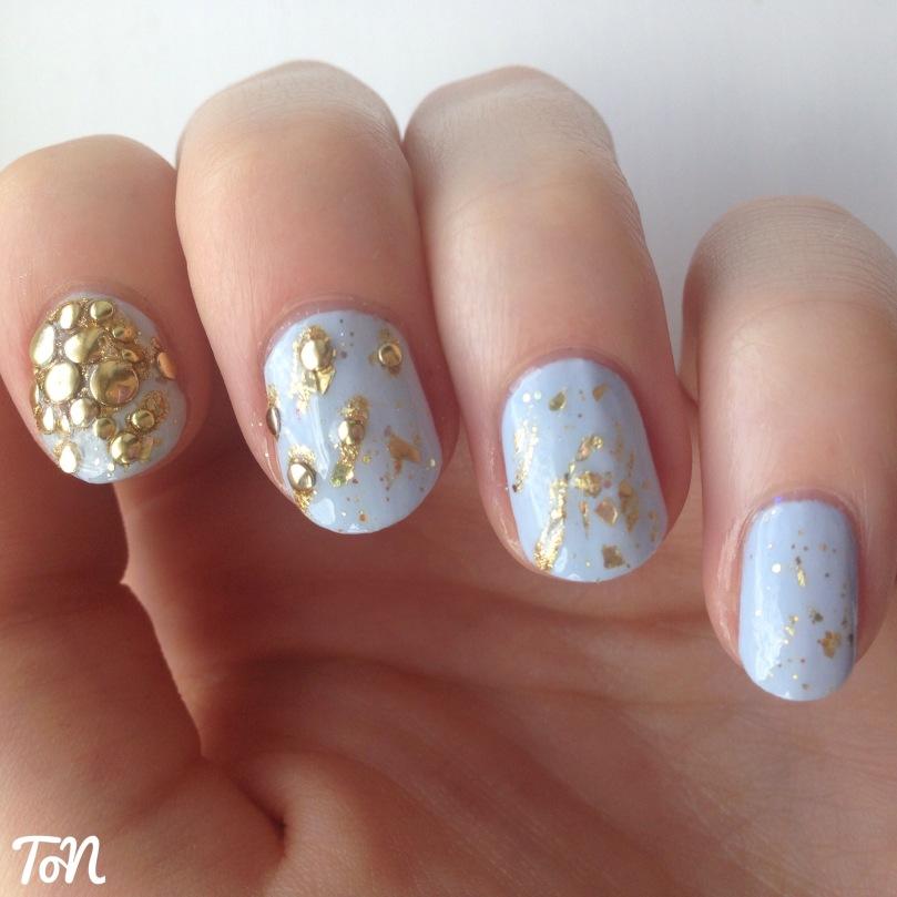 Day 11 of #tippedoffnailartchallenge July -  sunshine nails