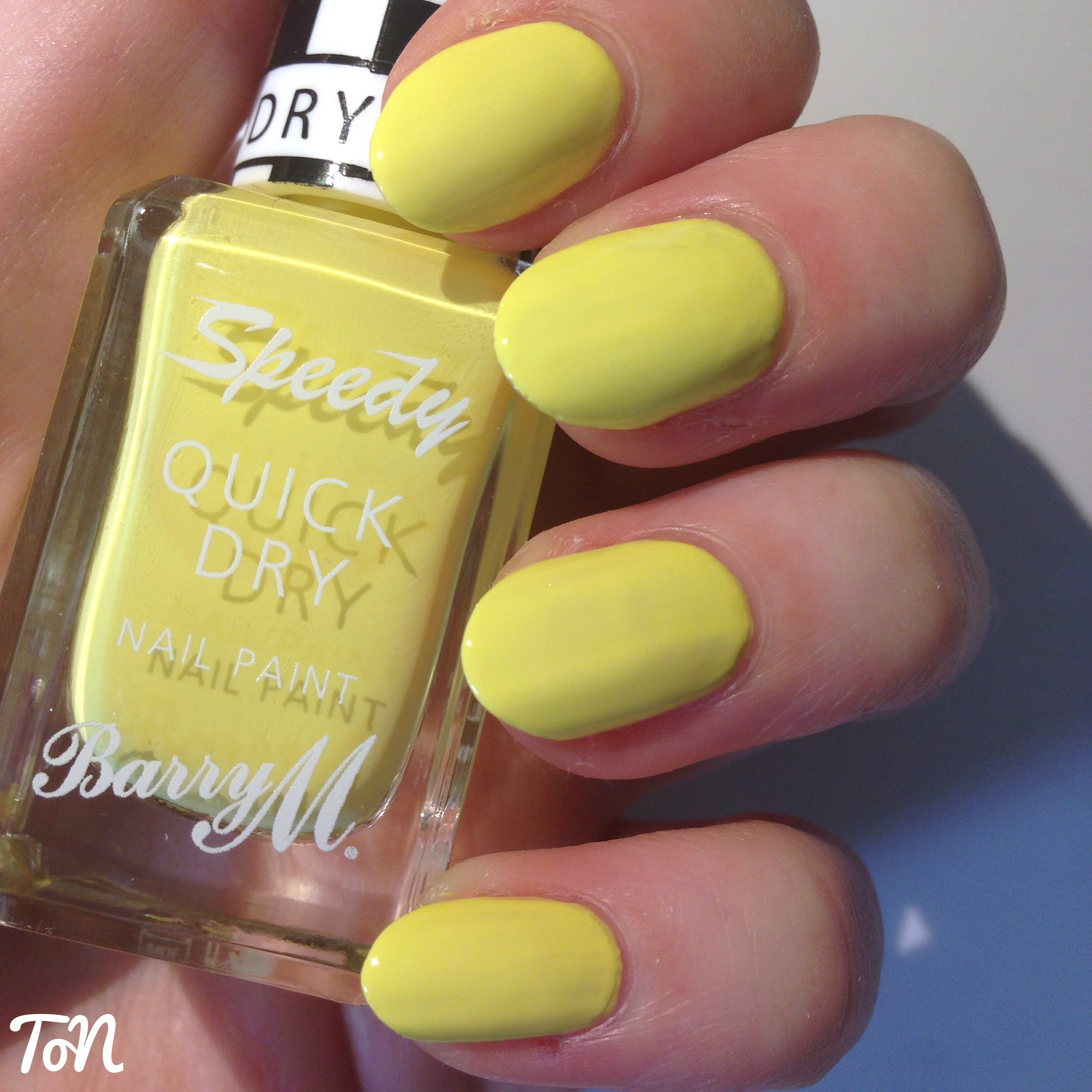 Swatch Sunday: Barry M Speedy Quick Dry Nail Paint – In a Heart Beat ...