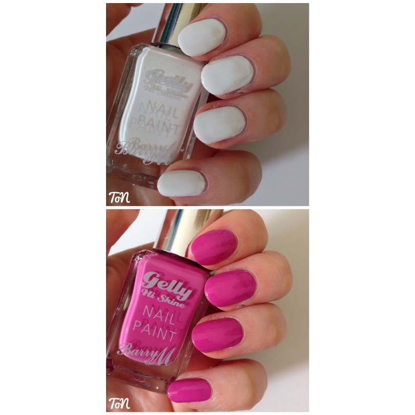 Barry M Gelly Hi-Shine Cotton and Sugar Plum
