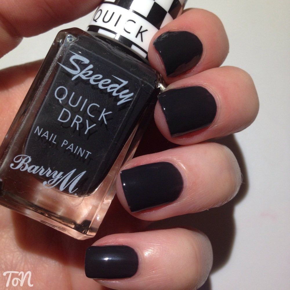 Barry M 2015 Autumn Speedy Quick Dry - Swatches and Review (6/6)