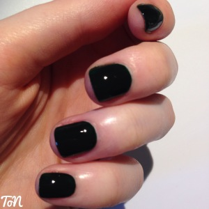 Barry M Gelly Hi Shine Black Pistachio