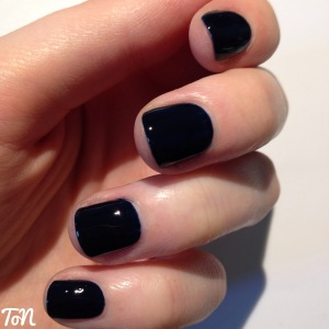 Barry M Gelly Hi Shine Black Grape