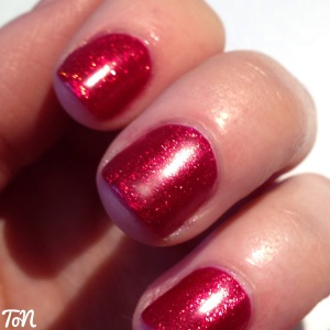 Barry M Glitter Gelly Hi Shine Sparkling Ruby