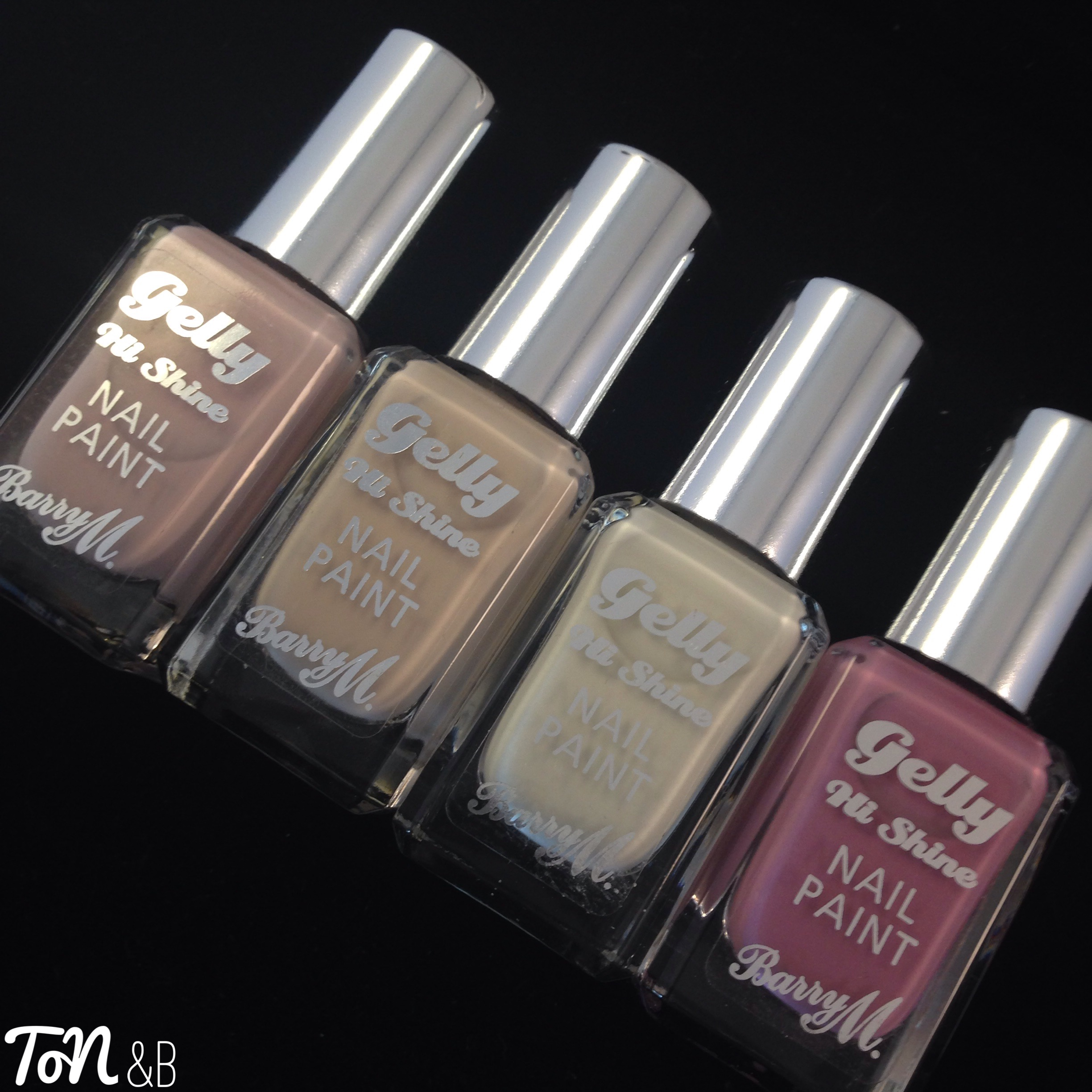 Barry M SS16 Gelly Hi Shine Collection