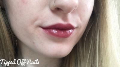 Makeup revolution liphug lipstick keeps the planet spinning