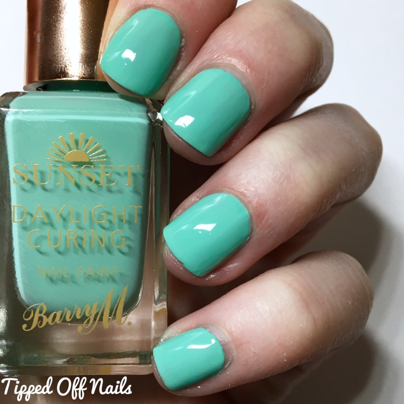 Barry M Sunset Gels Empire State Of Mint