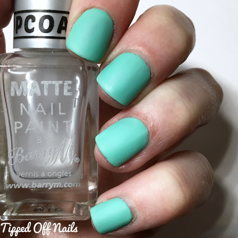 Barry M Sunset Gels Empire State Of Mint Matte