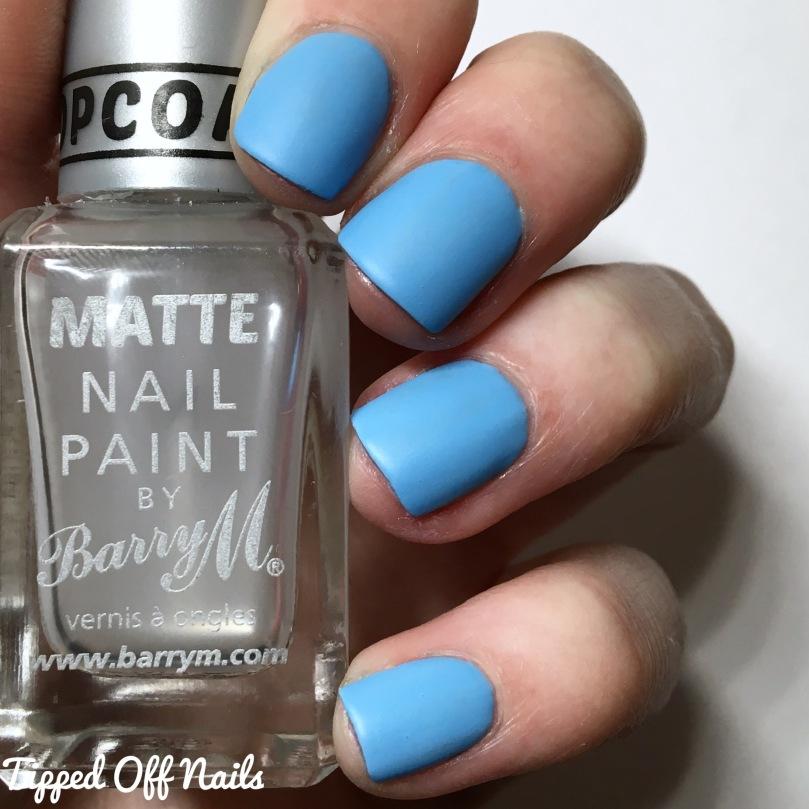 Barry M Sunset Gels Bug A Blue Matte