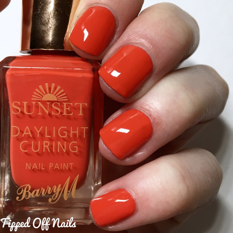 Barry M Sunset Gels All The Things She Red