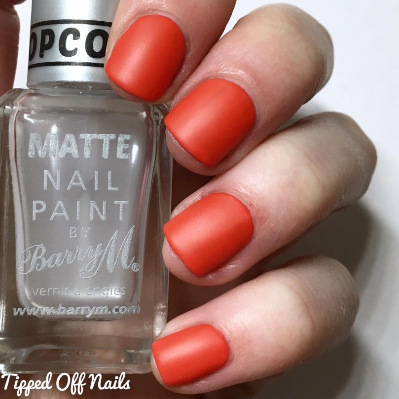 Barry M Sunset Gels All The Things She Red Matte
