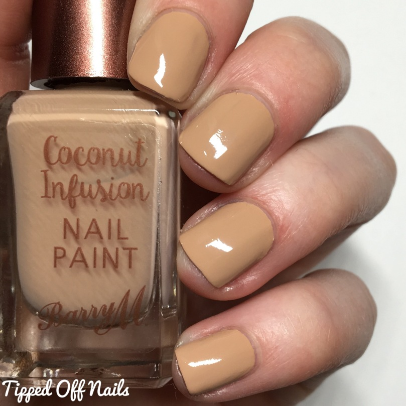 Barry M Coconut Infusion Sunkissed Swatches