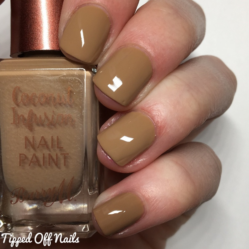 Barry M Coconut Infusion Tiki Hut Swatches