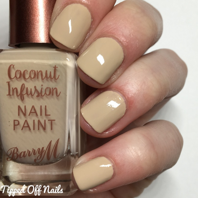 Barry M Coconut Infusion Starfish Swatches