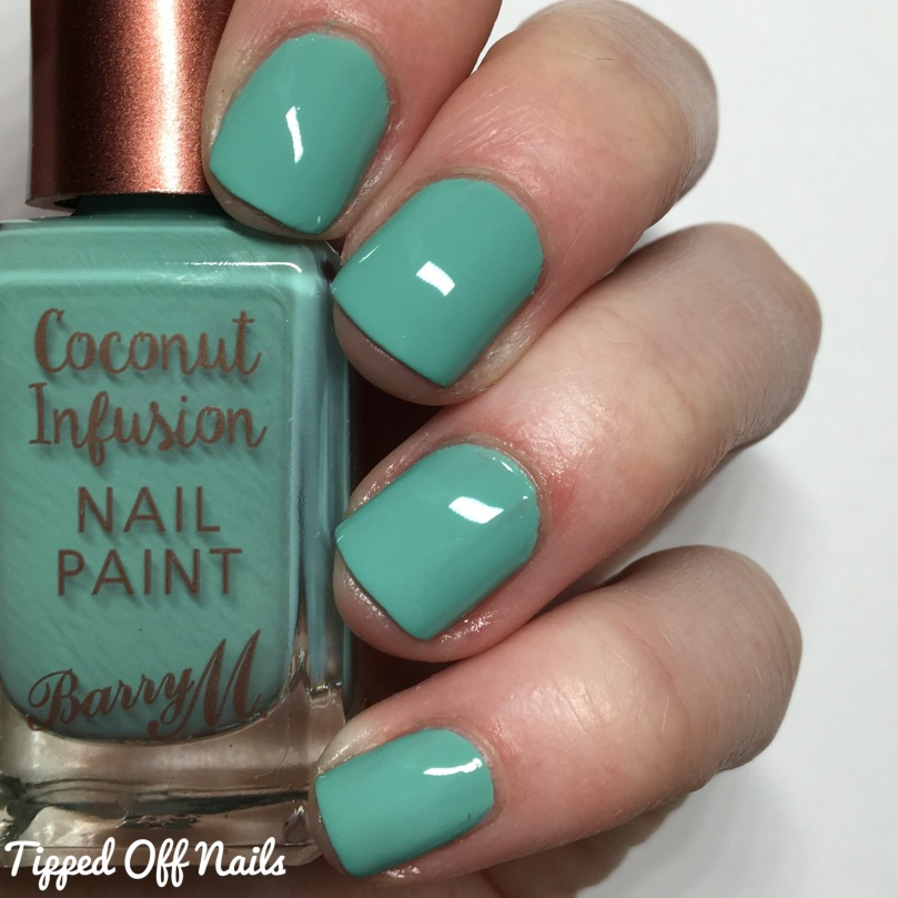 Barry M Coconut Infusion Bikini Swatches