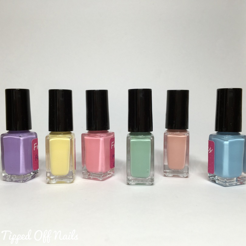 Freckles Polish Creme Collection Swatches
