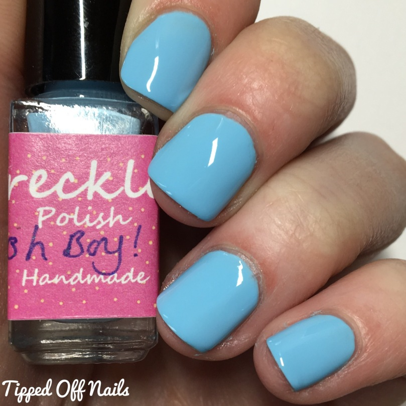 Freckles Polish Creme Collection Oh Boy! Swatches