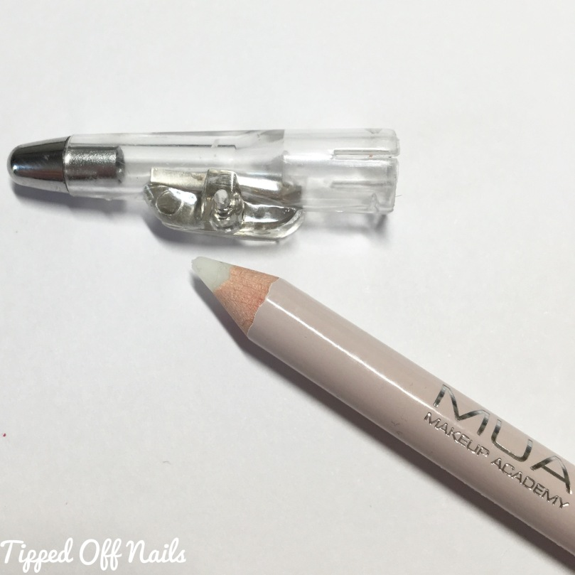 MUA anti-bleed lip liner review