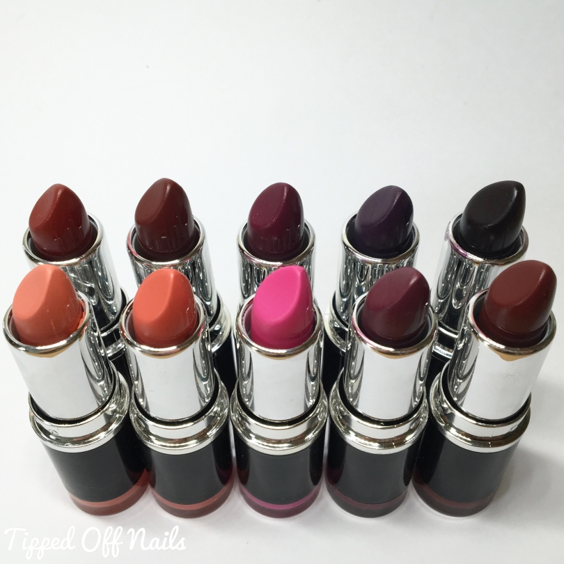 Freedom Pro Lipstick Kit: Now Collection and Vamp Collection Swatches
