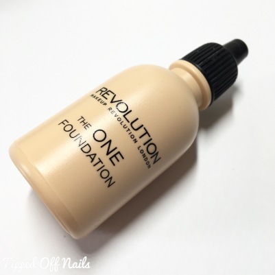 The One Foundation - shade 01 Makeup revolution