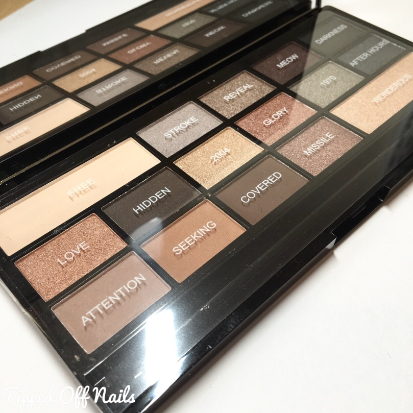 I ♡ Makeup Naked Underneath - Faux Fur covered palette