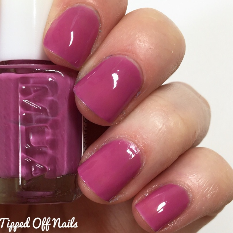MUA Orchid nail polish swatches
