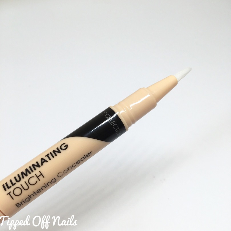 Collection Illuminating Touch Brightening Concealer Naked 1 swatches