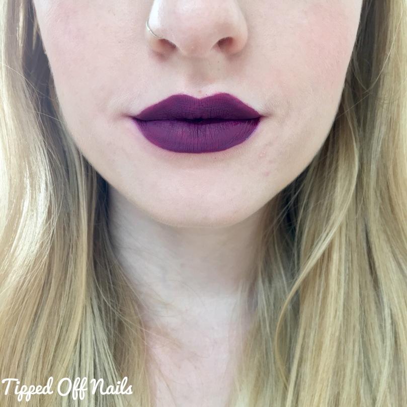 MUA Luxe Velvet Lip Lacquer Swatches: Kooky