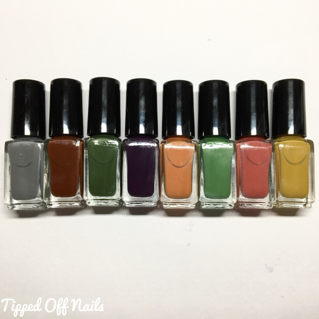 Princess Nail Lacquer Autumn Cremes Collection