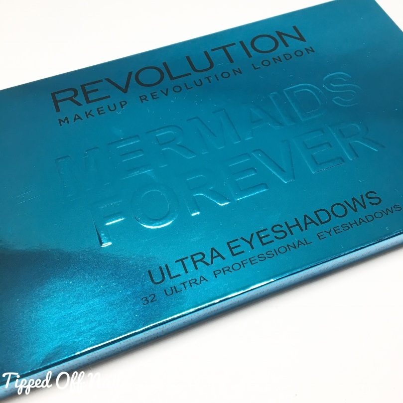 Makeup revolution Mermaids Forever swatches & Review