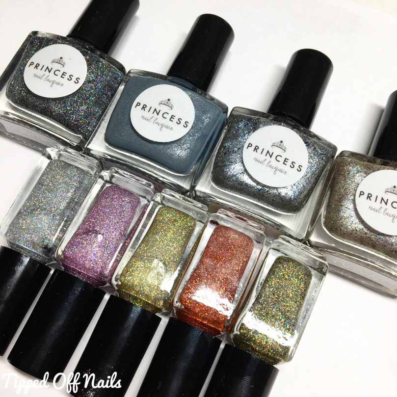 Princess Nail Lacquer Christmas Collection