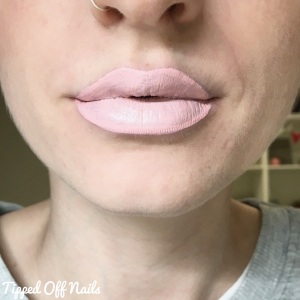 MUA Velvet Lip Lacquer Full Collection Swatches & Review Sugar Coated