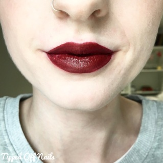 MUA Velvet Lip Lacquer Full Collection Swatches & Review Firecracker