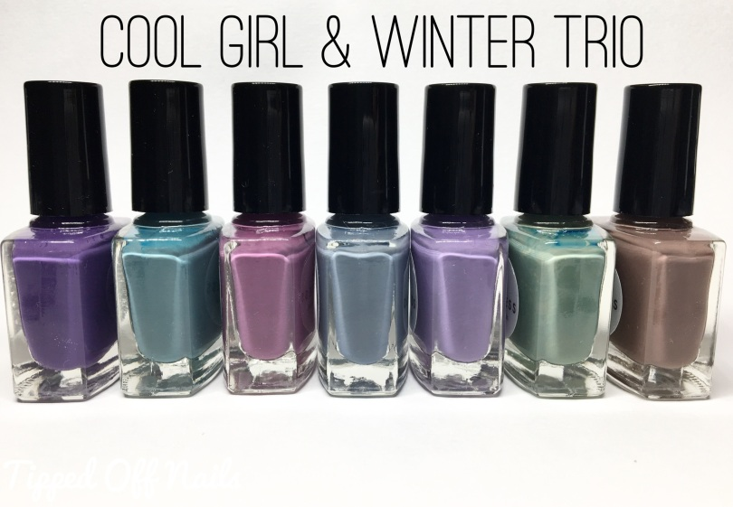 Princess Nail Lacquer Cool Girl Collection & Winter Creme Trio