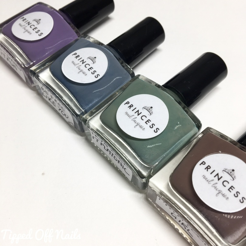 Princess Nail Lacquer Cool Girl Collection