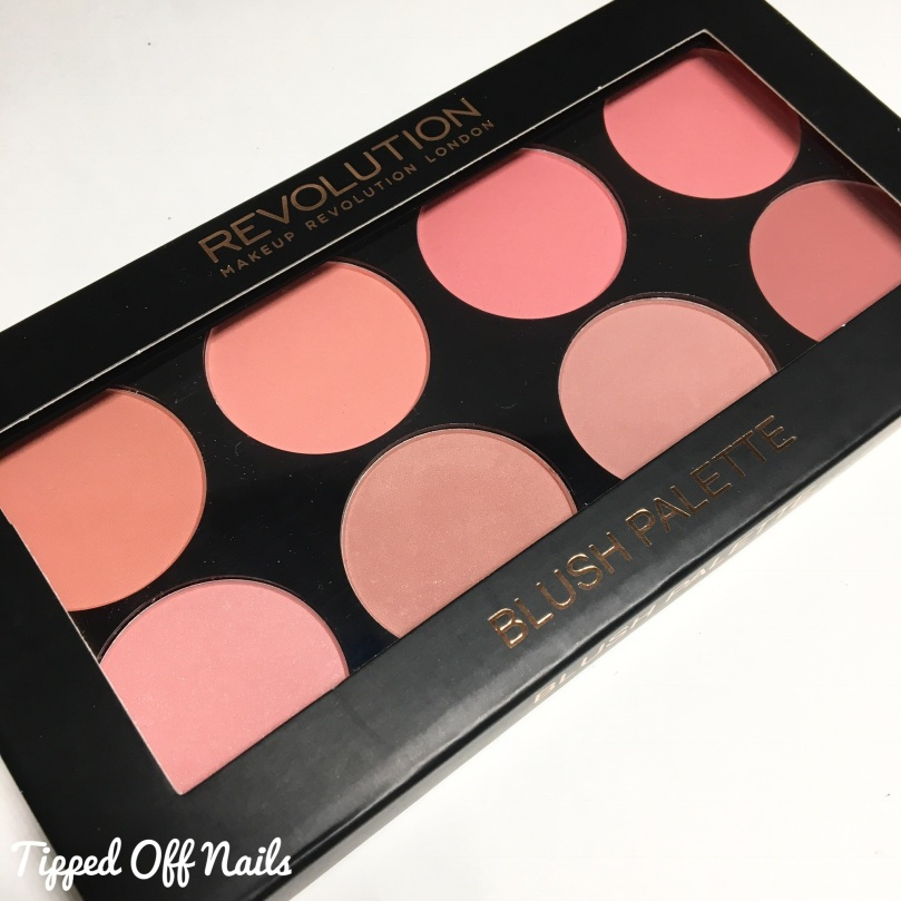 Makeup Revolution 12 Days of Christmas Blush Palette