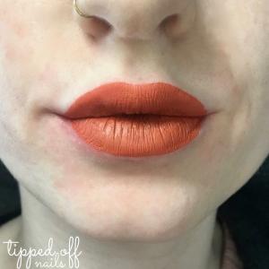 MUA Velvet Lip Lacquer Sizzle