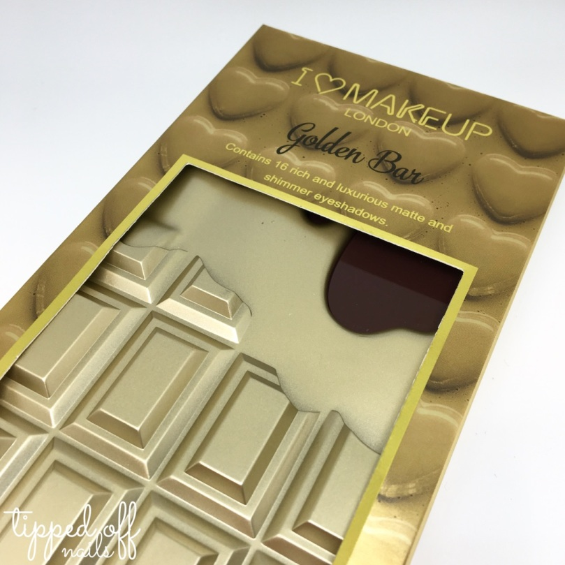 I Heart Makeup Golden Bar Swatches & Review