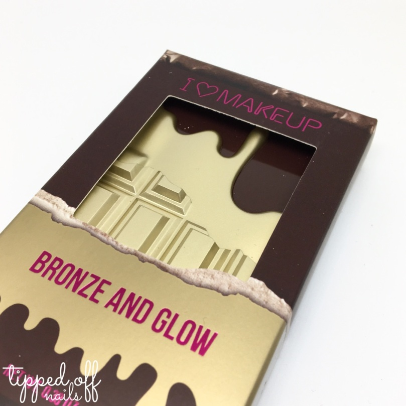 I Heart Makeup Bronze and Glow Swatches & Review