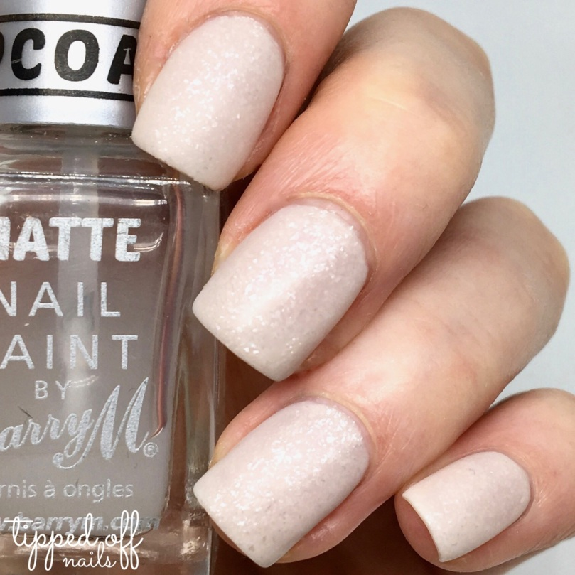 Barry M Frosted Cupcakes Nail Paint Marshmallow Swatches