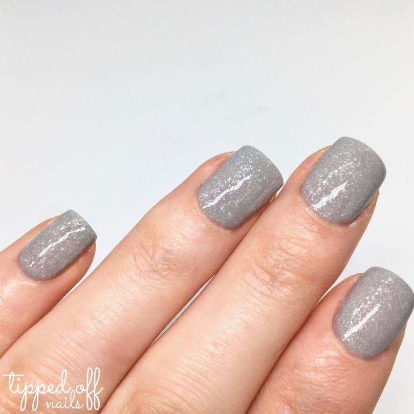 Barry M Frosted Cupcakes Nail Paint Earl Grey Swatches