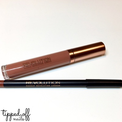 Makeup Revolution Retro Luxe Matte Lip Kits Swatches and Review: NOBLE
