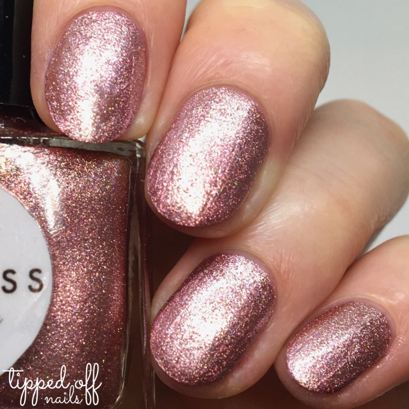 Princess Nail Lacquer Metallic Duo Rose
