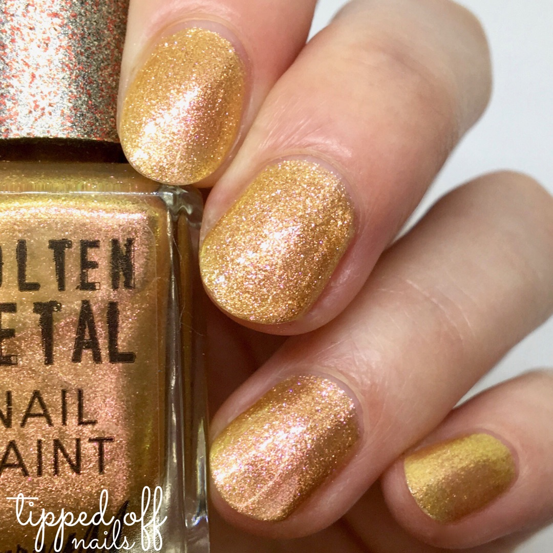 Barry M Molten Metals Gold Rush