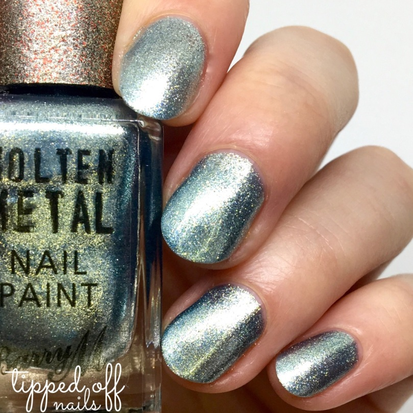 Barry M Molten Metals Blue Glacier