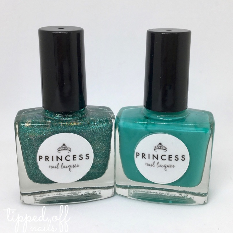 Princess Nail Lacquer Summer Collection Teal Duo