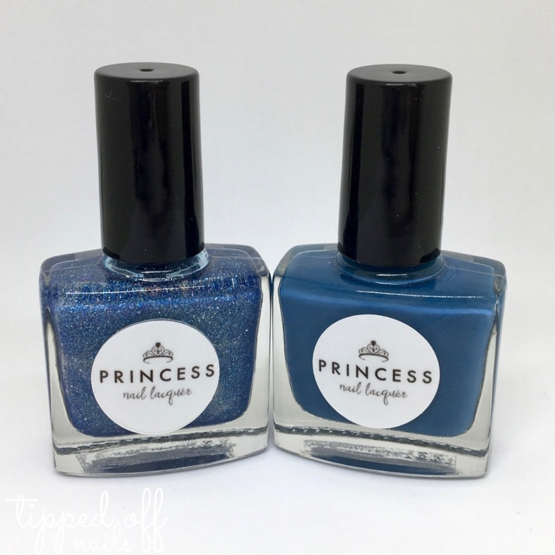 Princess Nail Laquer Summer Collection Blue Duo