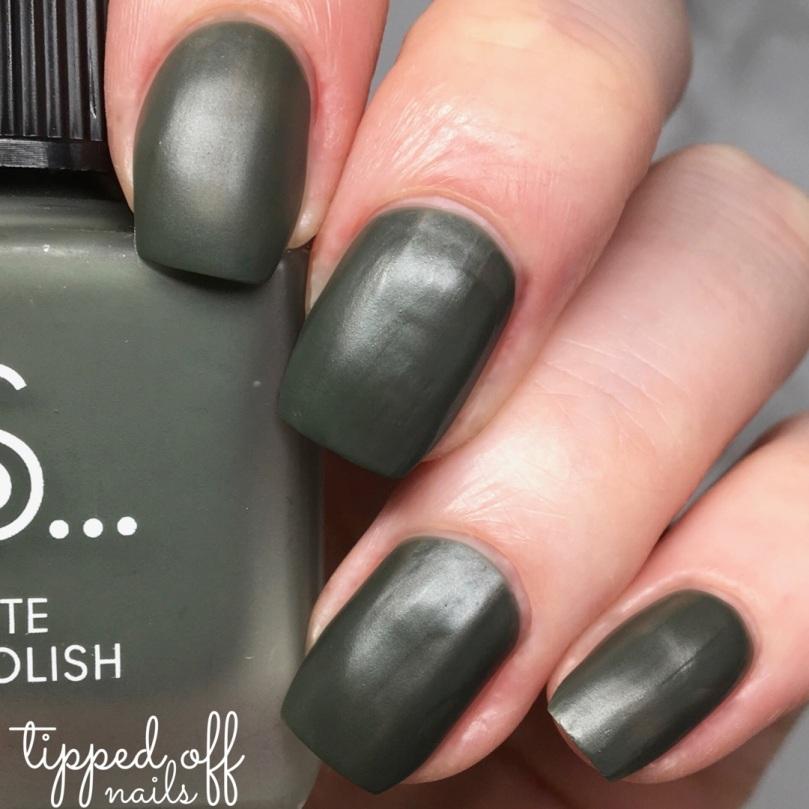 Primark Ps... Khaki matte nail polish