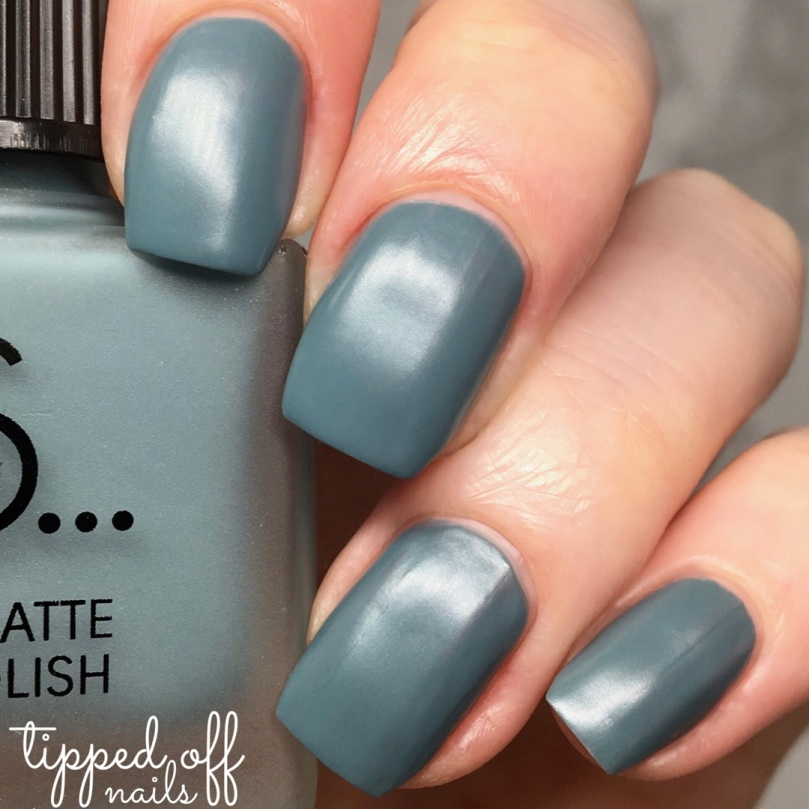 Primark PS Satin Matte Nail Polish Deep Sage