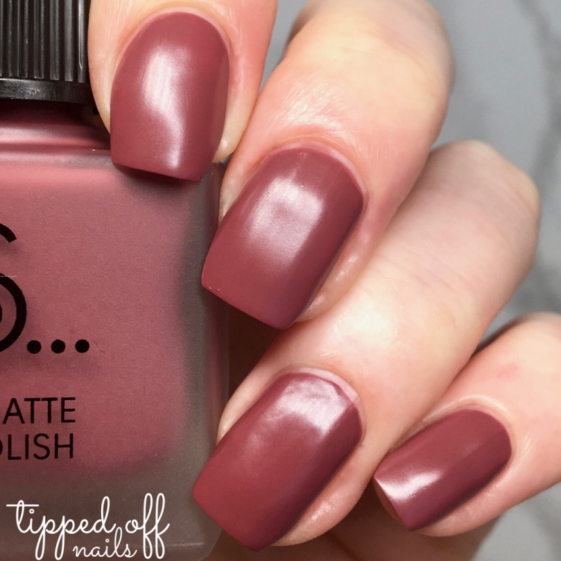 Primark PS Satin Matte Nail Polish Rose Mauve